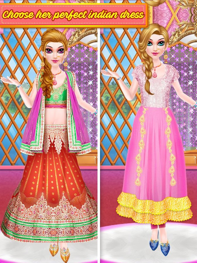 Indian Makeup and Dressup- screenshot