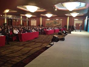 Photo: Chris Richardson Beijing keynote
