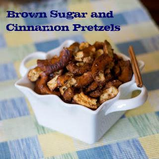 Brown Sugar and Cinnamon Pretzels.