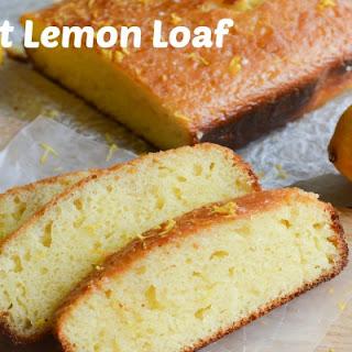 Perfect Lemon Loaf – Includes RAW Sugar Glaze