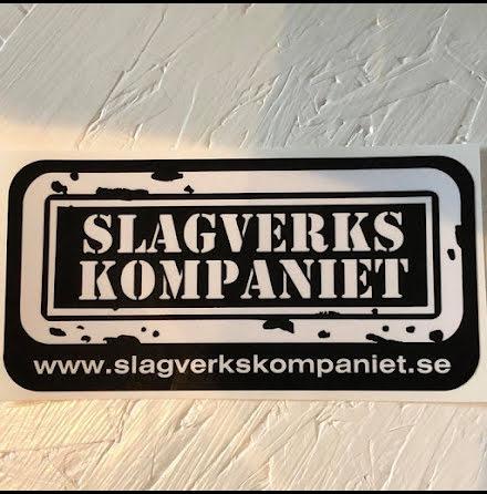 SVK-Dekal XL - Svart med vit text
