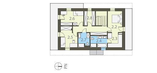 Szwajcarka - Rzut piętra