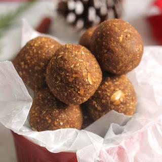 Gingerbread No-Bake Bites
