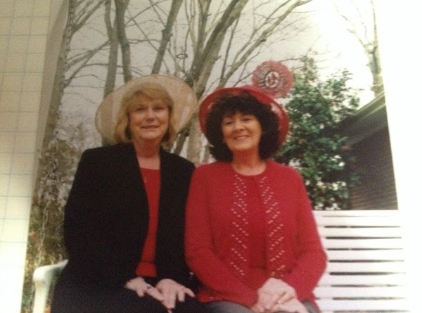 Here is a photo of MaAnn and I. She's the blonde. We have been...