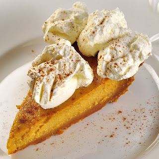 Pumpkin Custard Pie.