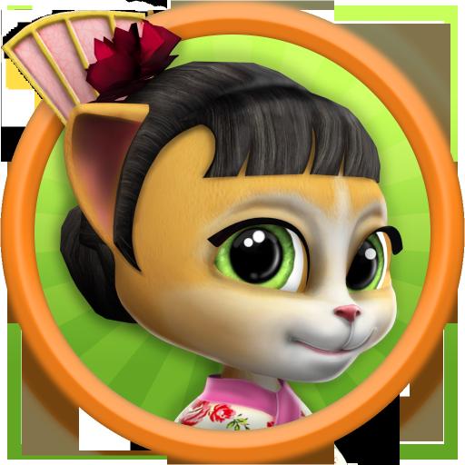休閒App|おしゃべり猫 - バーチャルペット LOGO-3C達人阿輝的APP