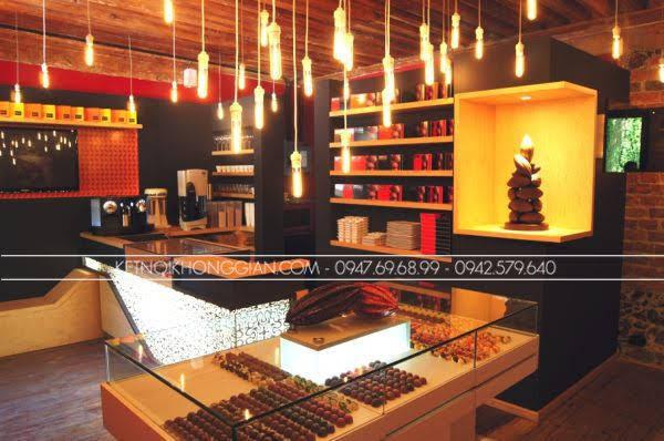 Thiết kế cửa hàng socola 2