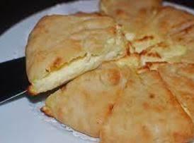 Khachapuri, Georgian Cheese Filled Flat Bread