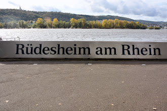 Photo: We arrive in Rudesheim for our tour