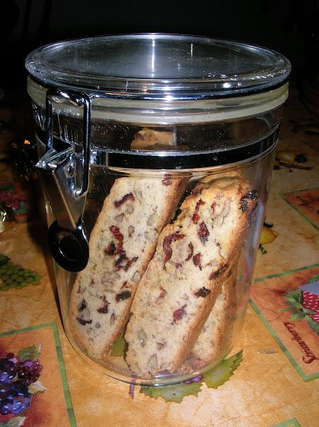 Photo: Cranberry/pecan biscotti