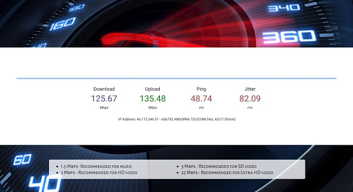 ⚡ SpeedCast - Internet speed test for Chromecast ⚡ 1.3.0 screenshots 3