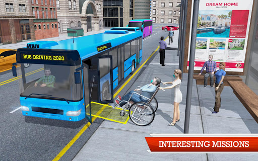 Coach Bus Simulator Game screenshot 4