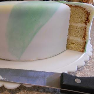 Mild Coconut Cake (1-2-3-4 Cake)