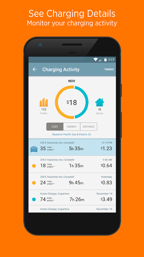 ChargePoint- screenshot