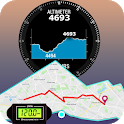 Altimeter Maps, Compass & Route Planner icon