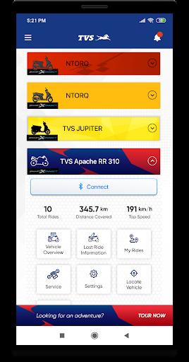 TVS Connect 1.9.3 screenshots 2