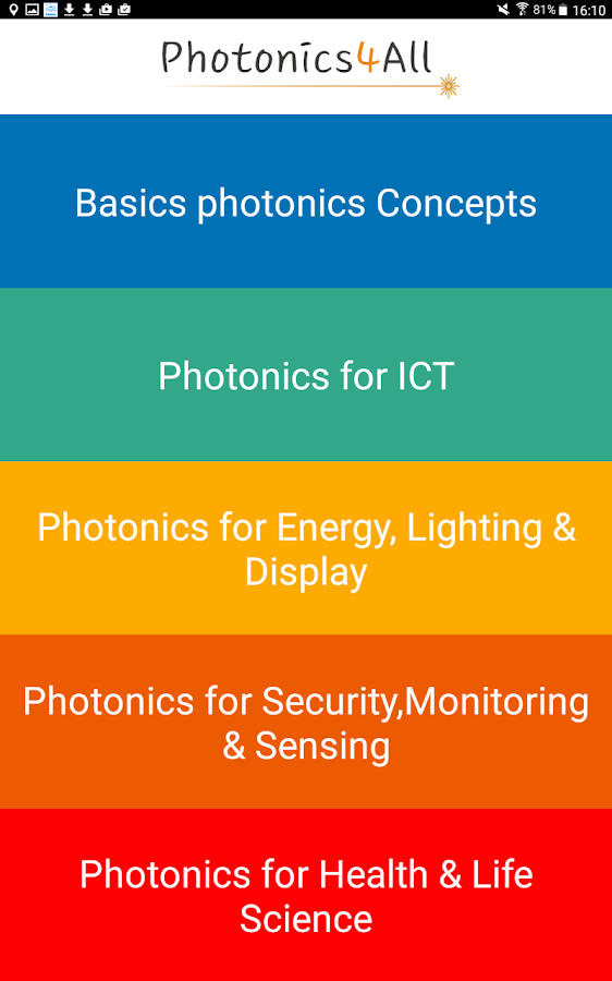 Photonics4All- screenshot
