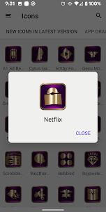 Purple Lakeshow icon pack 1.5 APK + MOD (Unlocked) 2