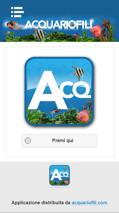 Acquariofili- screenshot
