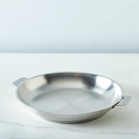 Cristel Space-Saving Fry Pan, 10.2""