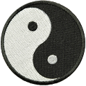 Ying Yang Patch Sticker Widget icon