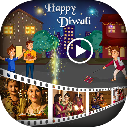 Diwali Video Maker - Photo Video Maker with Music
