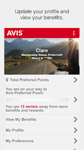Avis Car Rental screenshot 5