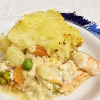 Oven Baked Fish Pie.