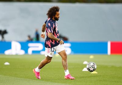 Het blijft rommelen bij Real Madrid en Marcelo is het kind van de rekening