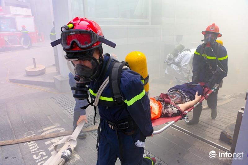 Mặt nạ phòng độc trong phòng cháy chữa cháy