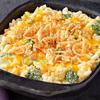 Broccoli Mac and Cheese Casserole.
