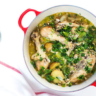 One Pot Spanish Chicken Stew.