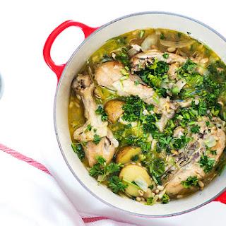 One Pot Spanish Chicken Stew.
