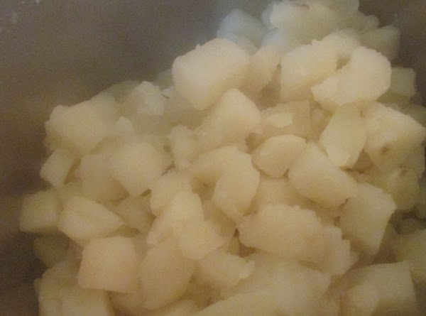 I like to add potatoes back into pot, turn fire on low, and allow...