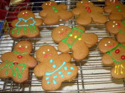 "Gingerbread Cookies ""These came out perfect; just the right amount of 'softness'..."