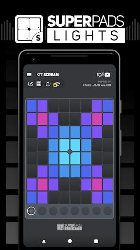 SUPER PADS LIGHTS - Your DJ app 1.6.6 screenshots 1