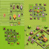 base coc th 1 up 11
