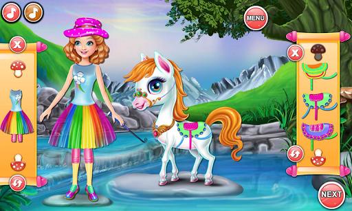Sandra Pony Fairy Salon 1.0.5 screenshots 6