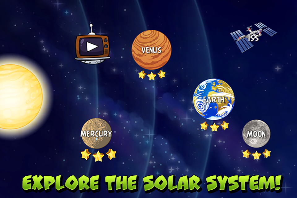 Angry Birds Space Premium screenshot #1