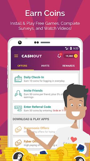 CashOut: Free Cash and Rewards screenshot 1