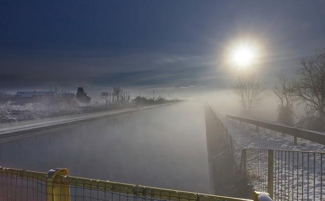 Bruma mattutina sul canale di FZATOX
