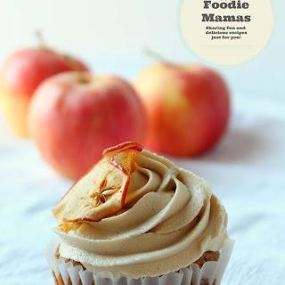 Apple Caramel Cupcakes #FoodieMamas