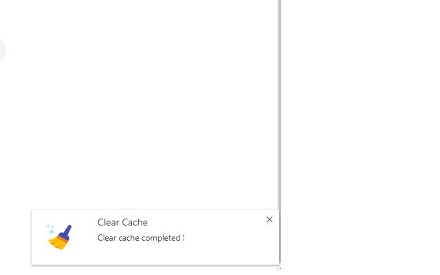 Astea Clear Cache