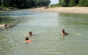 Photo: Kąpiel w Dniestrze, długo oczekiwana.