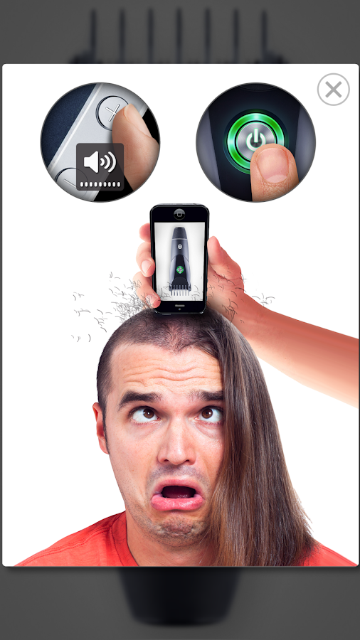 Hair Trimmer Prank- screenshot