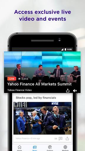 Yahoo Finance  screenshots 5