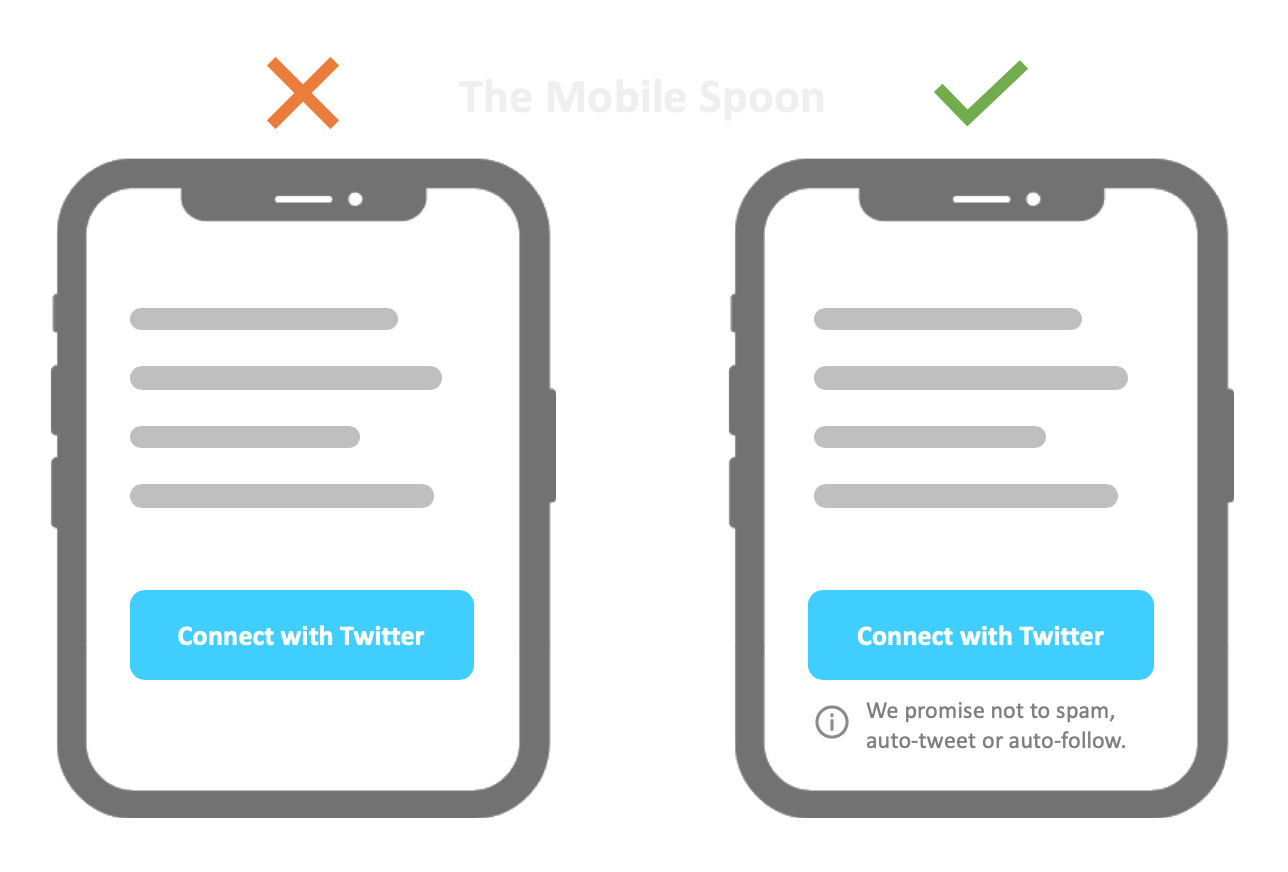 Cognitive biases in UI design - The best of the mobile spoon - UI Design and UX Writing
