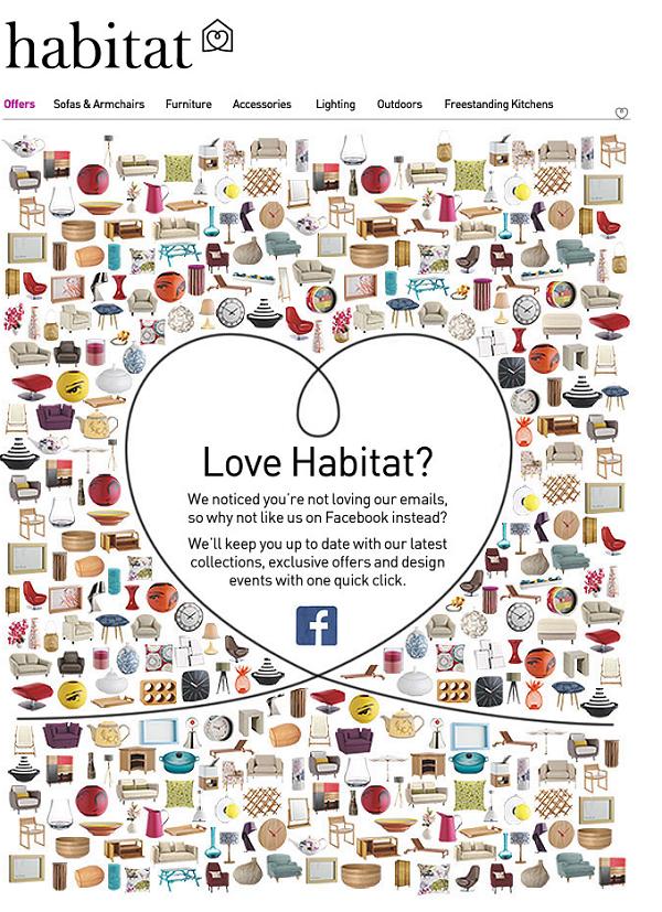 Пример рассылки Habitat