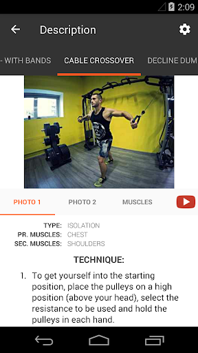 GymApp Pro Workout Log screenshot 4