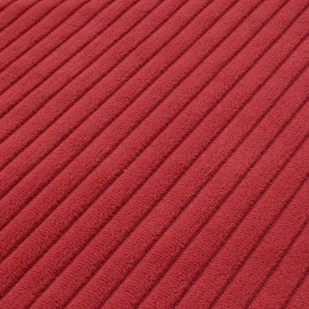 Bredspårig Manchester Möbeltyg - röd